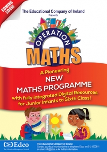 Operation maths Poster Design for Edco