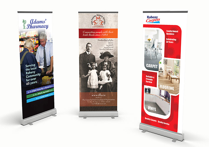 Pull-up-banners design