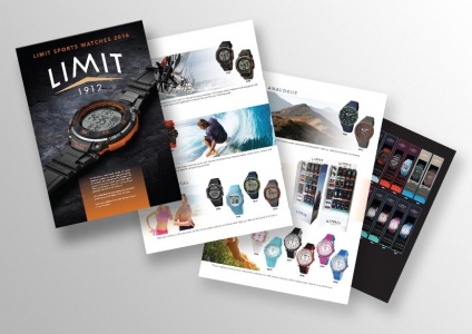 Watch Catalogue Design Dublin