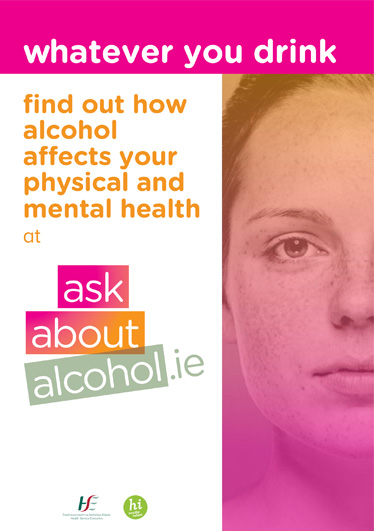 Ask About Alcohol Female Poster Design for HSE