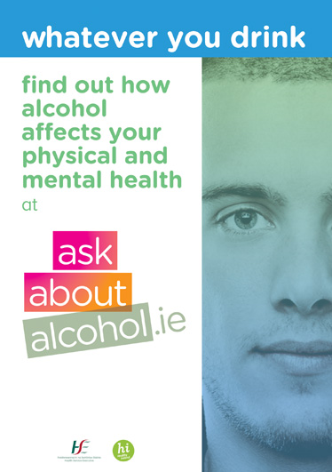 Ask About Alcohol Male Poster Design for HSE