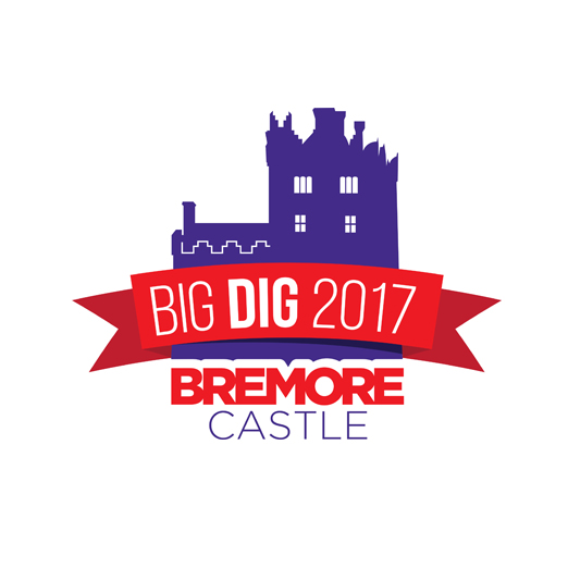 Bremore Castle Big Dig 2017 Logo Design