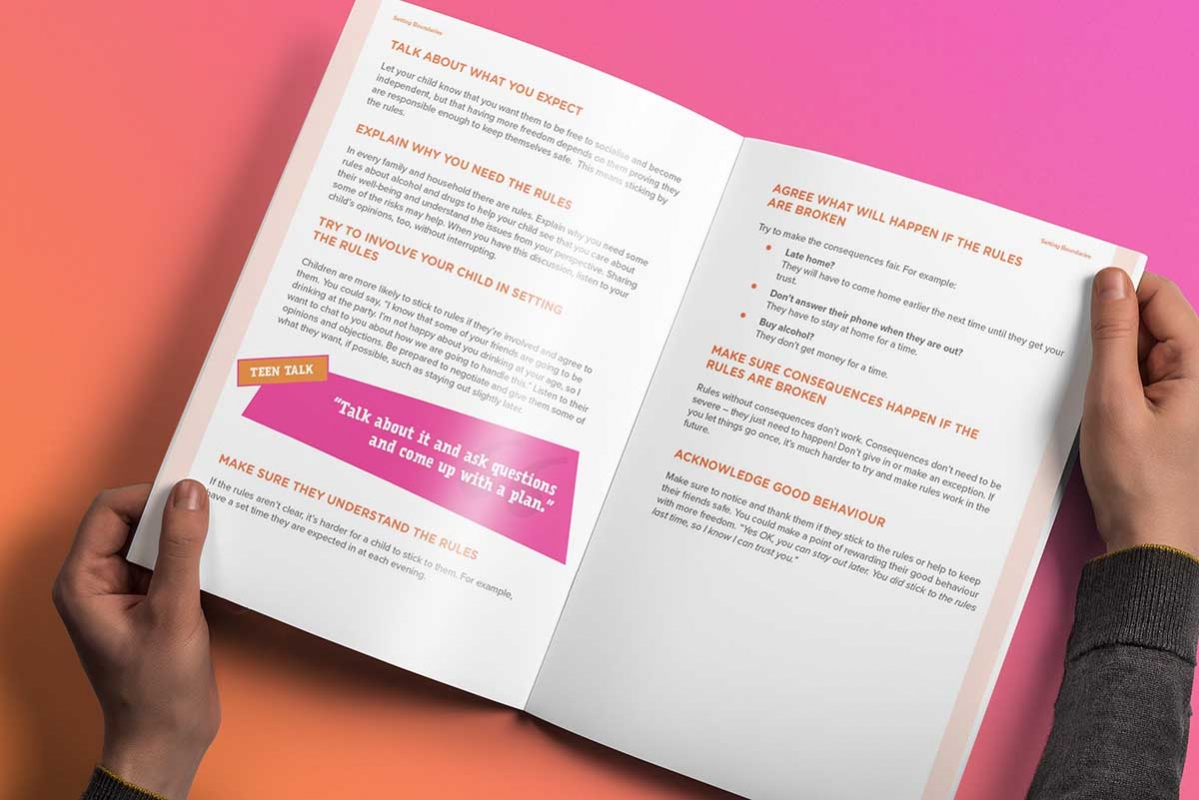 Brochure Design Dublin HSE Ask About the Alcohol