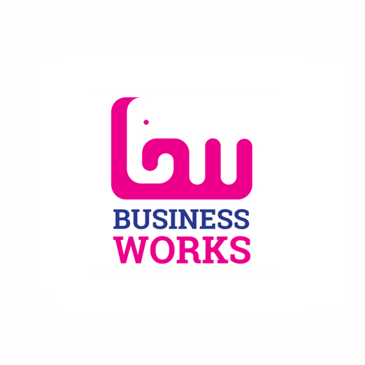 BusinessWorks_Logo_design_Strong, Powerful and Gentle are the attributes of the elephant and echo those of Business Works