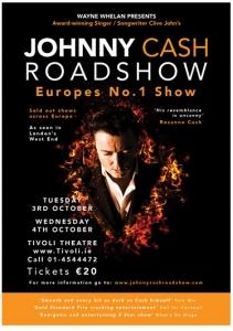 Poster Design For Johnny Cash Roadshow Tivoli Theatre