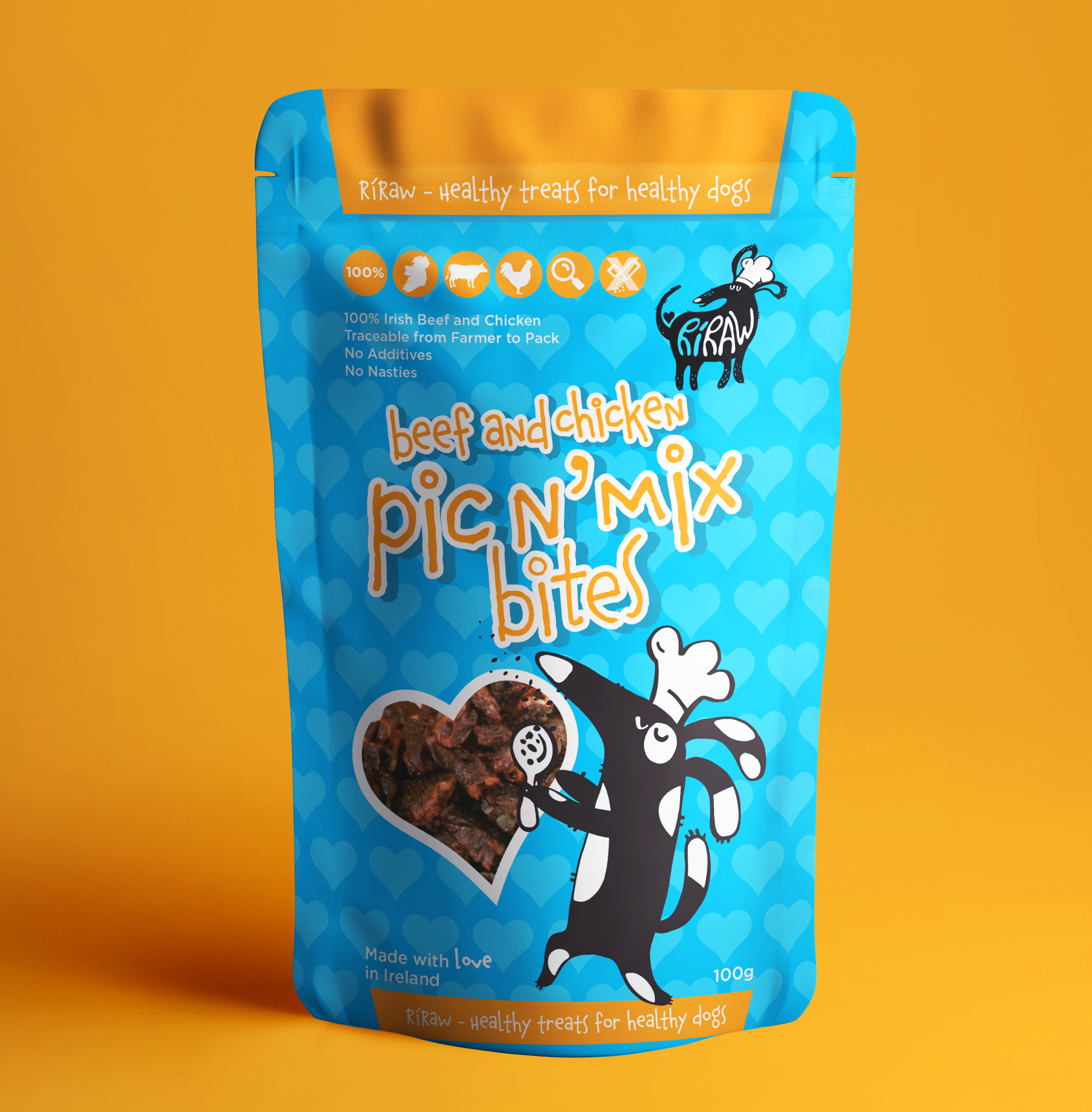 Pet Food Packaging design Dublin