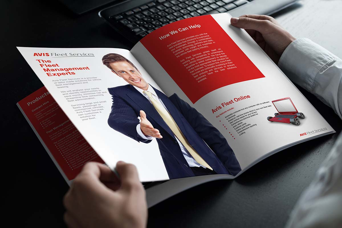 Sales Brochure Design Dublin Avis Services