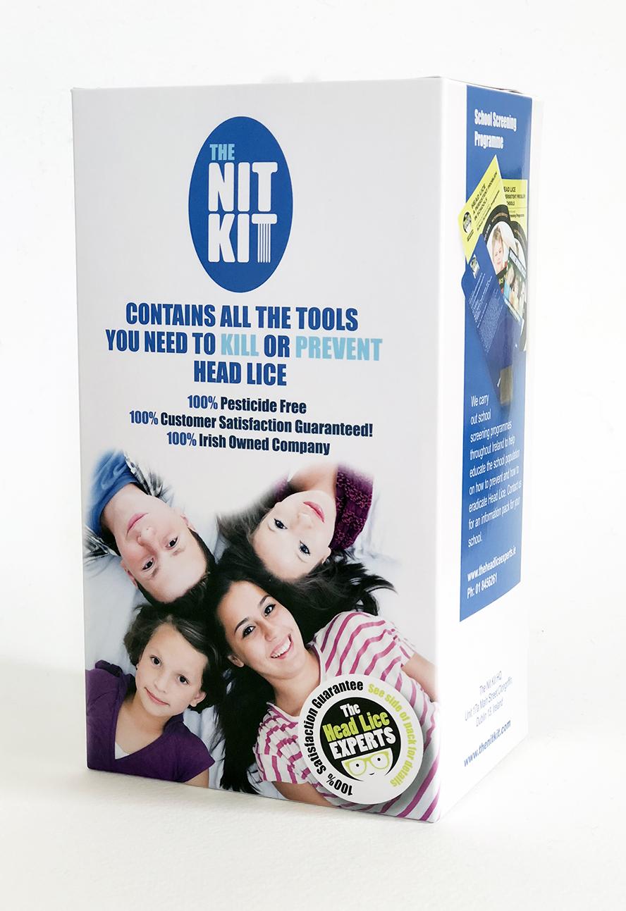 The Nit Kit Packaging Design Dublin
