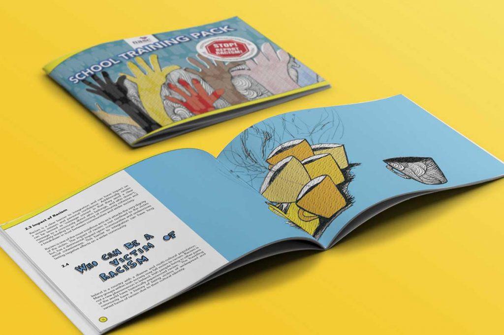 training pack brochure design dublin nasc