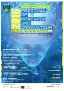 UCD Conway Festival of Research and Innovation Poster Design Campaign