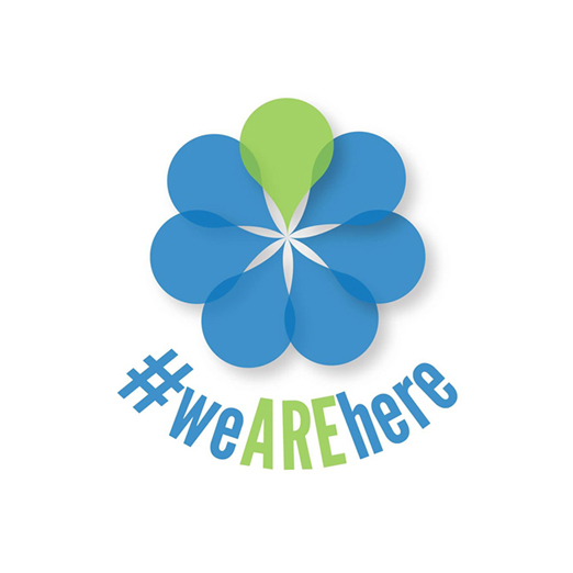 Logo Design for #WeAREhere