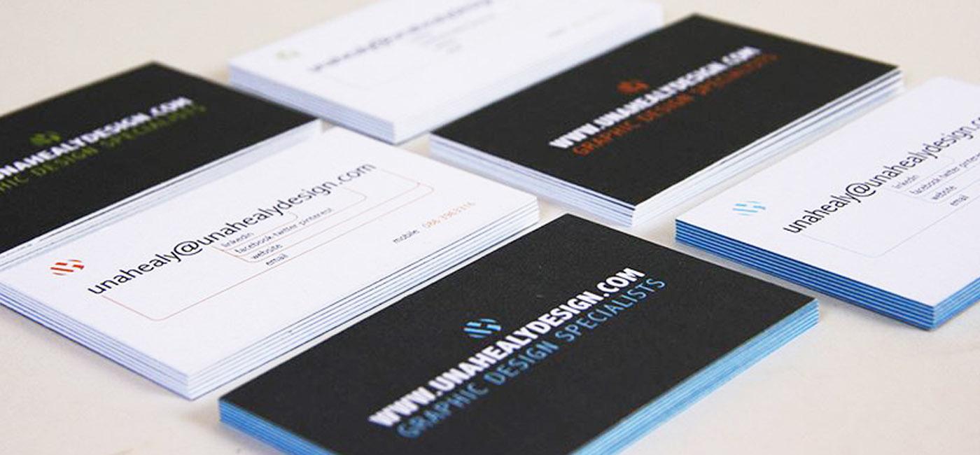 blog header business card design - Una Healy Graphic Designer Dublin