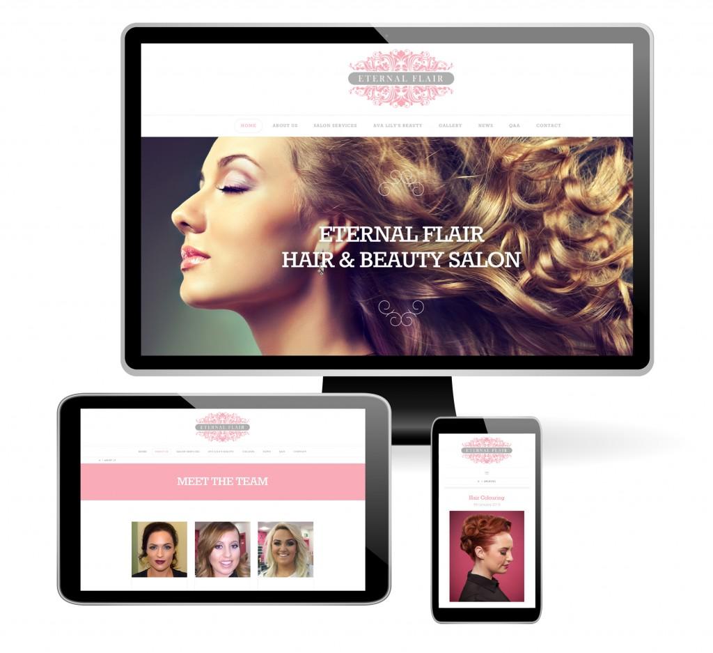 Eternal Flair website