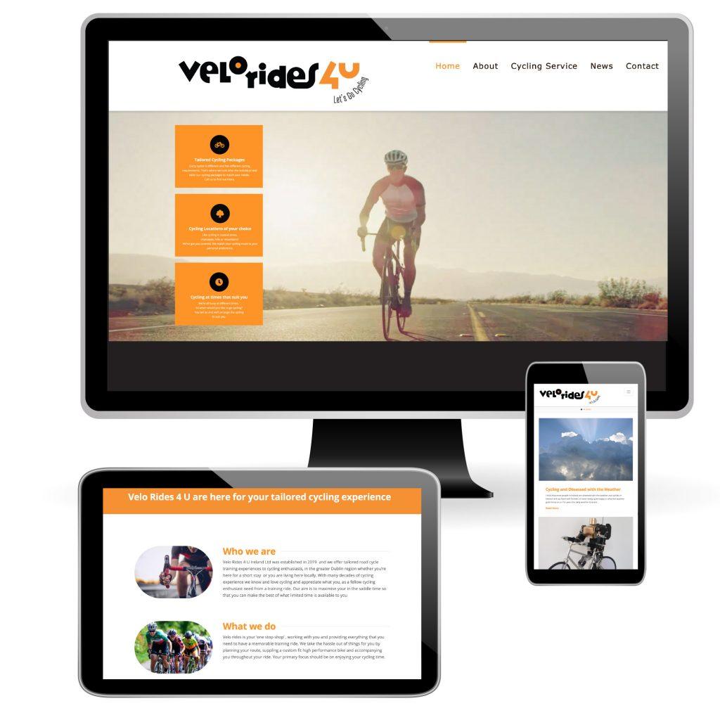VeloRides4U_Website_design