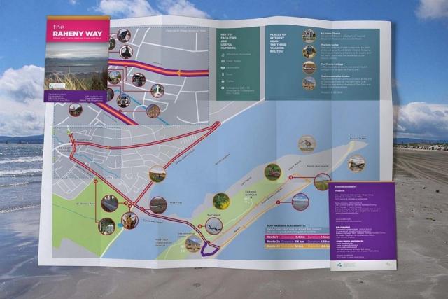 Award Winning Design: The Raheny Way Map Design for Dublin City Council